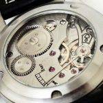 Le balancier de la montre bracelet