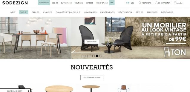 Chaise Design Plexiglas